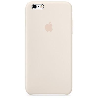Чехол-накладка Apple iPhone 6 Plus/6S Plus силикон (белый) MLD22