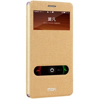 Буклет Mofi для Xiaomi RedMi Note (золотой)