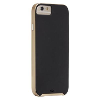Чехол-накладка Case-Mate для iPhone 6/6s Slim Tough (черно-золотой) CM031465