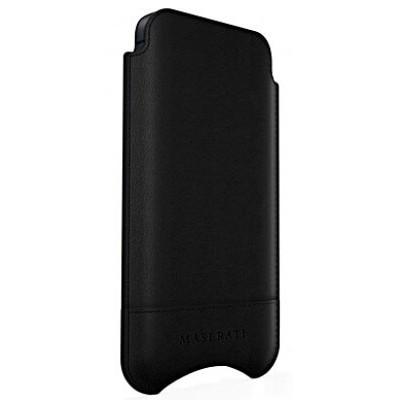 Футляр Moodz для iPhone 5/5S Maserati Stile (черный) MS26142