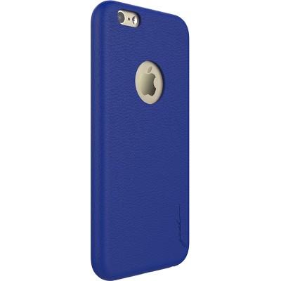 Чехол-накладка Gosh Analina Faux для iPhone 6/6S (синий)