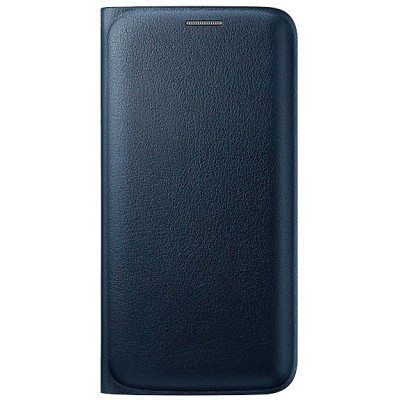 Чехол-книжка Samsung Galaxy S6 Edge Flip Wallet (черный)