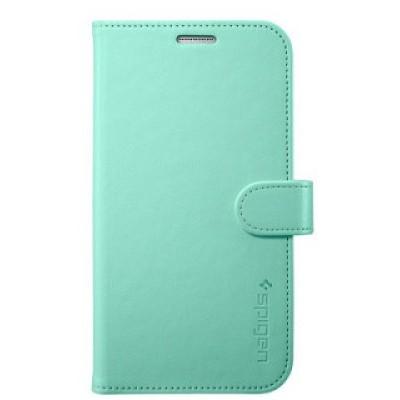 Чехол-книжка SGP Wallet S для Samsung Galaxy S6 Edge (мятный)