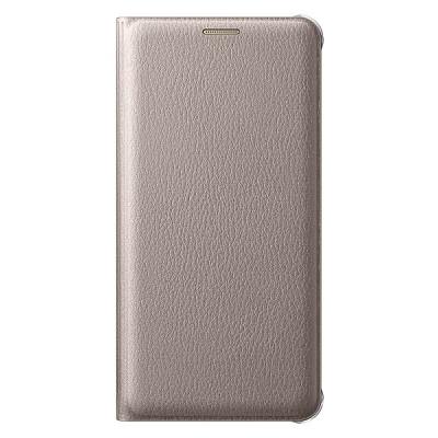 Чехол-книжка Samsung Galaxy A7 2016 Flip Wallet (золотой)