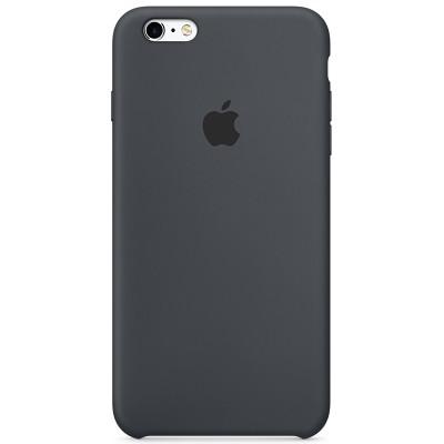 Чехол-накладка Apple iPhone 6/6S силикон (темно-серый) MKY02