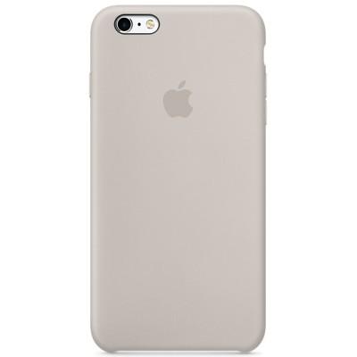Чехол-накладка Apple iPhone 6 Plus/6S Plus силикон (серый) MKXN2