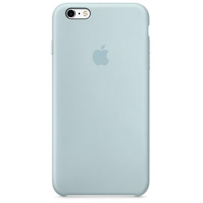 Чехол-накладка Apple iPhone 6/6S силикон (голубой) MLCW2