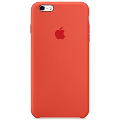 Чехол-накладка Apple iPhone 6/6S силикон (оранжевый) MKY62