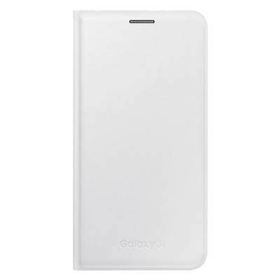 Чехол-книжка Samsung Galaxy J500 Flip Wallet (белый)