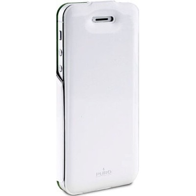 Флип-чехол Puro для iPhone 5/5s VIP COVER (белый)