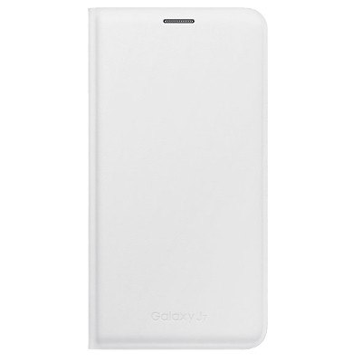 Чехол-книжка Samsung Galaxy J700 Flip Wallet (белый)