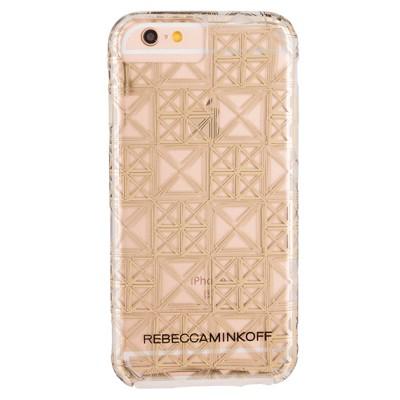 Чехол-накладка Case-Mate для iPhone 6/6S Metallic Prints (Naked Signature Stud)
