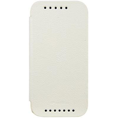 Чехол-книжка Melkco для HTC One M8 (белый)