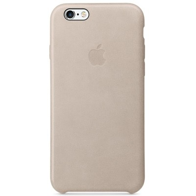 Чехол-накладка Apple iPhone 6/6S (серо-розовый) MKXV2