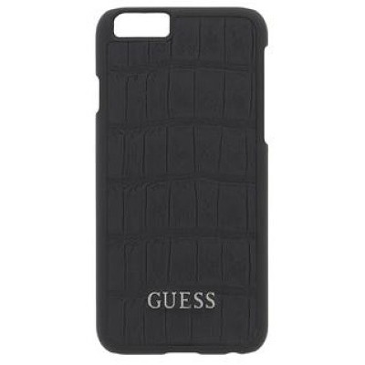 Чехол-накладка Guess для iPhone 6 Clark Collection (черный)