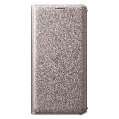 Чехол-книжка Samsung Galaxy A3 2016 Flip Wallet (золотой)