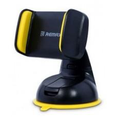 Держатель в машину Remax для смартфонов (черно-желтый)