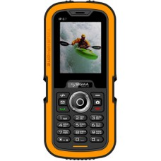 Sigma Х-treme IP67 Dual Sim (Black Orange)