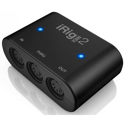 MIDI-интерфейс портативный IK Multimedia iRig MIDI 2