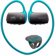 Водонепроницаемый плеер-наушники Sony NWZ-WS615/L (Blue)