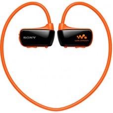 Водонепроницаемый плеер-наушники Sony NWZ-W274S/D (Orange)