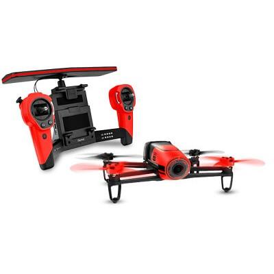 Квадрокоптер Parrot Bebop Drone с пультом управления Skycontroller (красный)